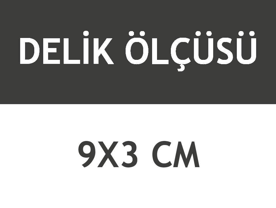 8044A/S BEYAZ DİKDÖRTGEN AÇIK 12 LED DUVAR ARMATÜR