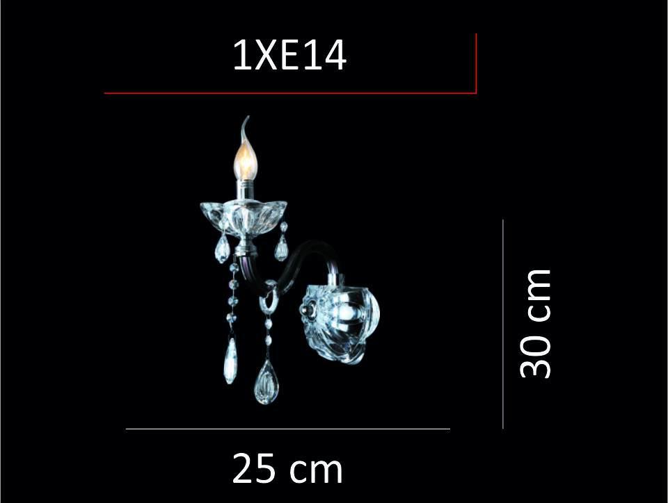 9429/1 SPARTA E14 1X40W APLİK